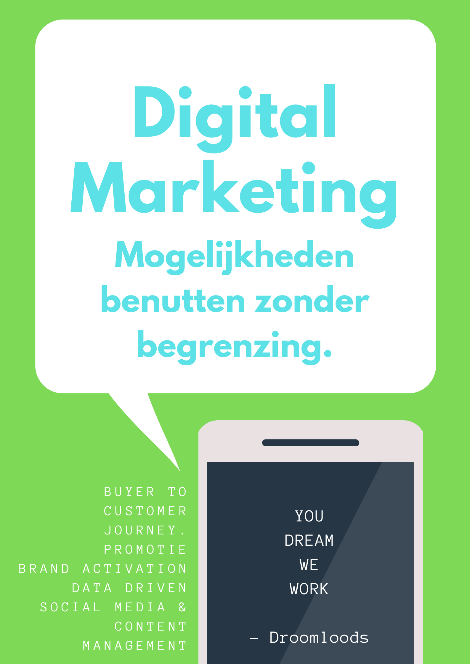 Digital marketing droomloods